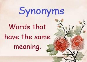 Sanskrit Synonyms