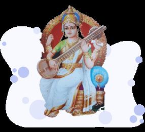 Essay on Goddess Saraswati in Sanskrit