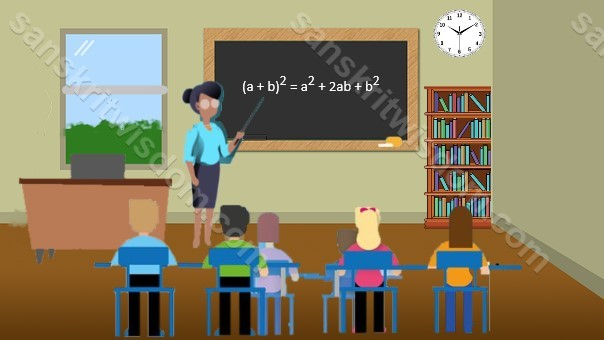 10 Lines on Classroom