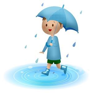Picture description of a Rainy day in Sanskrit