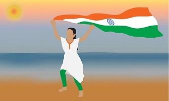 Essay on Indian Independence Day in Sanskrit